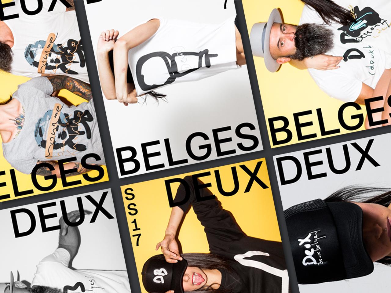 Deux Belges posters
