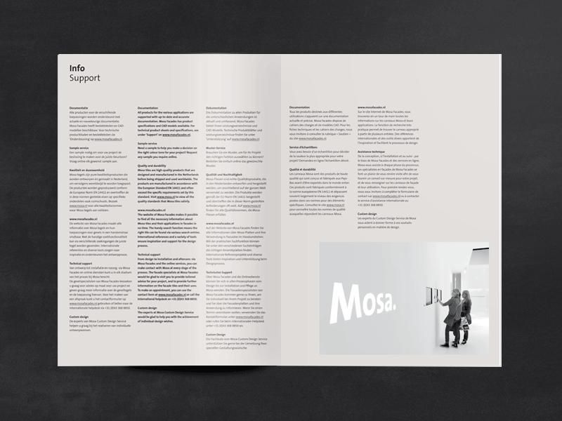 Mosa Facades brochure