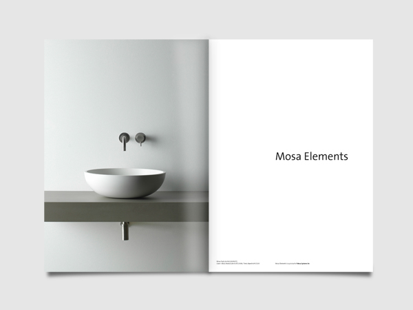 Mosa Elements brochure