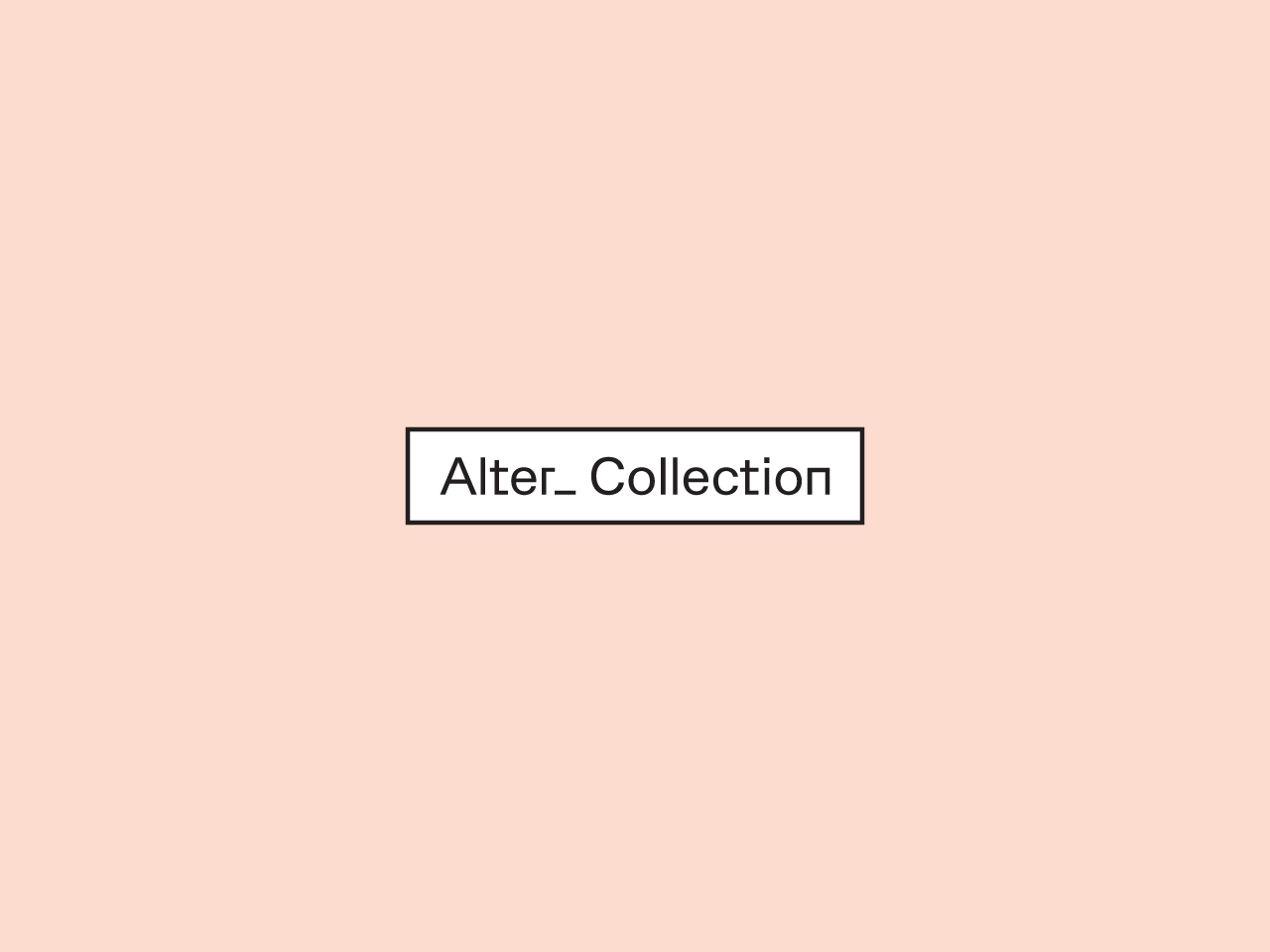 Alter Collection logo